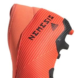Buty piłkarskie adidas Nemeziz 19.3 Ll Fg Junior EH0488 pomarańczowe pomarańczowe 4
