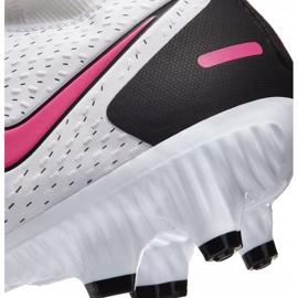 Buty piłkarskie Nike Phantom Gt Academy Df FG/MG CW6667 160 białe białe 6