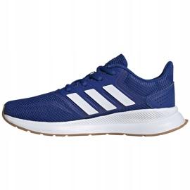 Buty dla dzieci adidas Runfalcon K niebieskie FV8838 2