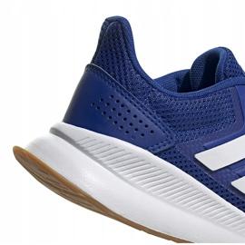 Buty dla dzieci adidas Runfalcon K niebieskie FV8838 4