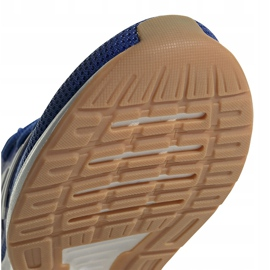 Buty dla dzieci adidas Runfalcon K niebieskie FV8838 6