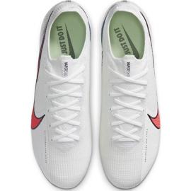 Buty piłkarskie Nike Mercurial Vapor 13 Elite Fg AQ4176 163 białe białe 1