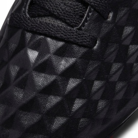 Buty piłkarskie Nike Tiempo Legend 8 Club FG/MG Junior AT5881 060 czarne czarne 5
