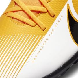 Buty piłkarskie Nike Mercurial Superfly 7 Club Tf AT7980 801 pomarańczowe żółte 5