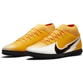 Buty piłkarskie Nike Mercurial Superfly 7 Club Tf AT7980 801 pomarańczowe żółte 3