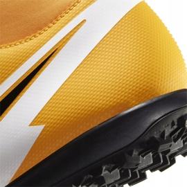 Buty piłkarskie Nike Mercurial Superfly 7 Club Tf AT7980 801 pomarańczowe żółte 6