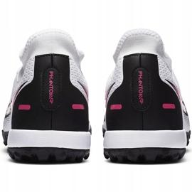 Buty piłkarskie Nike Phantom Gt Academy Df Tf CW6666 160 białe białe 4