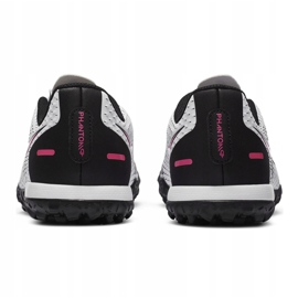 Buty piłkarskie Nike Jr Phantom Gt Academy Tf CK8484 160 białe białe 4