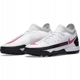 Buty piłkarskie Nike Phantom Gt Academy Df Tf CW6666 160 białe białe 3