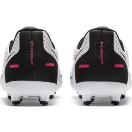 Buty piłkarskie Nike Jr Phantom Gt Academy FG/MG CK8476 160 białe białe 4