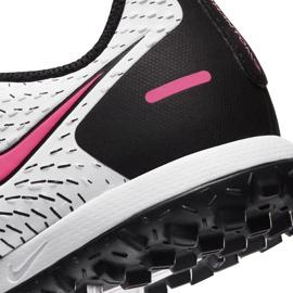 Buty piłkarskie Nike Jr Phantom Gt Academy Tf CK8484 160 białe białe 6