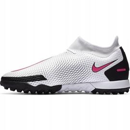 Buty piłkarskie Nike Phantom Gt Academy Df Tf CW6666 160 białe białe 2