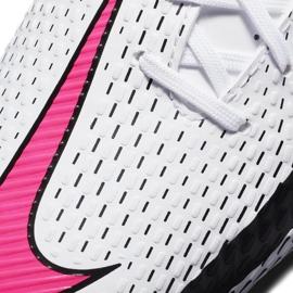Buty piłkarskie Nike Jr Phantom Gt Academy FG/MG CK8476 160 białe białe 5