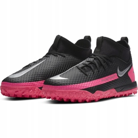 Buty piłkarsakie Nike Jr Phantom Gt Academy Df Tf CW6695 006 czarne czarne 3
