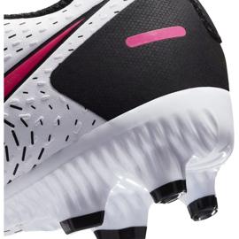 Buty piłkarskie Nike Jr Phantom Gt Academy FG/MG CK8476 160 białe białe 6