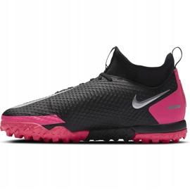 Buty piłkarsakie Nike Jr Phantom Gt Academy Df Tf CW6695 006 czarne czarne 2