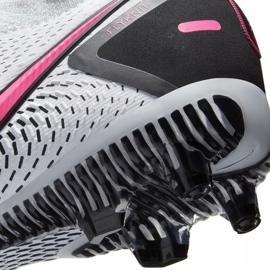 Buty piłkarskie Nike Phantom Gt Pro Fg Junior CK8473 160 białe białe 10