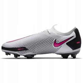 Buty piłkarskie Nike Phantom Gt Pro Fg Junior CK8473 160 białe białe 4