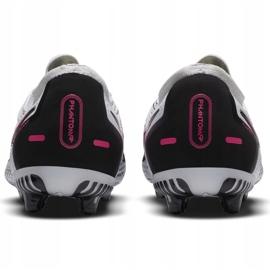 Buty piłkarskie Nike Phantom Gt Pro Fg Junior CK8473 160 białe białe 8
