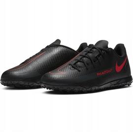 Buty piłkarskie Nike Jr Phantom Gt Club Tf CK8483 060 czarne czarne 3