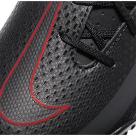 Buty piłkarskie Nike Jr Phantom Gt Club Tf CK8483 060 czarne czarne 5