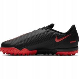 Buty piłkarskie Nike Jr Phantom Gt Academy Tf CK8484 060 czarne czarne 2