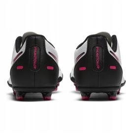 Buty piłkarskie Nike Jr Phantom Gt Club FG/MG CK8479 160 białe wielokolorowe 5