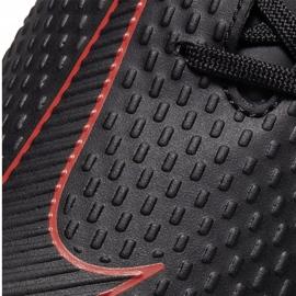 Buty piłkarskie Nike Phantom Gt Academy FG/MG CK8460 060 białe czarne 5