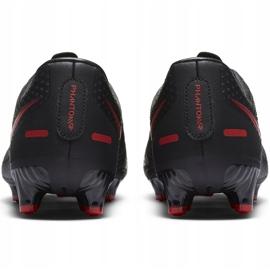 Buty piłkarskie Nike Phantom Gt Academy FG/MG CK8460 060 białe czarne 4