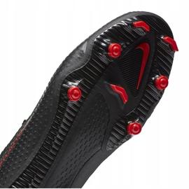 Buty piłkarskie Nike Phantom Gt Academy FG/MG CK8460 060 białe czarne 7