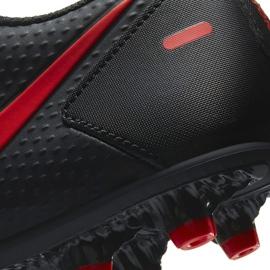 Buty piłkarskie Nike Phantom Gt Club FG/MG CK8459 060 białe czarne 6