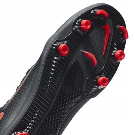 Buty piłkarskie Nike Phantom Gt Club FG/MG CK8459 060 białe czarne 7