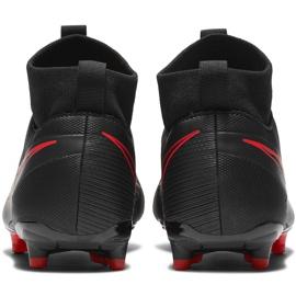 Buty piłkarskie Nike Mercurial Superfly 7 Academy FG/MG Junior AT8120 060 czarne czarne 4
