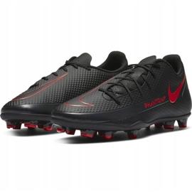 Buty piłkarskie Nike Phantom Gt Club FG/MG CK8459 060 białe czarne 3