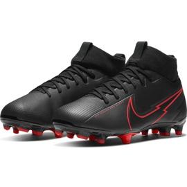 Buty piłkarskie Nike Mercurial Superfly 7 Academy FG/MG Junior AT8120 060 czarne czarne 3
