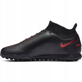 Buty piłkarskie Nike Jr Phantom Gt Club Df Tf CW6729 060 czarne czarne 2