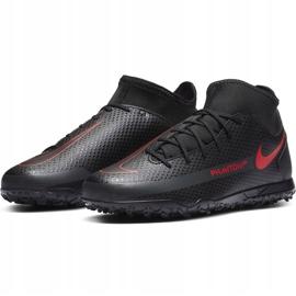 Buty piłkarskie Nike Jr Phantom Gt Club Df Tf CW6729 060 czarne czarne 3