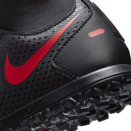 Buty piłkarskie Nike Jr Phantom Gt Club Df Tf CW6729 060 czarne czarne 6