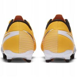 Buty piłkarskie Nike Mercurial Vapor 13 Academy FG/MG Junior AT8123 801 pomarańczowe żółte 4