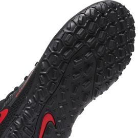Buty piłkarskie Nike Jr Phantom Gt Club Df Tf CW6729 060 czarne czarne 7