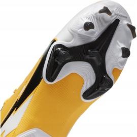 Buty piłkarskie Nike Mercurial Vapor 13 Academy FG/MG Junior AT8123 801 pomarańczowe żółte 7