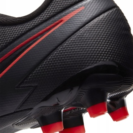 Buty piłkarskie Nike Mercurial Vapor 13 Academy FG/MG Junior AT8123 060 czarne czarne 6