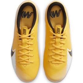 Buty piłkarskie Nike Mercurial Vapor 13 Academy FG/MG Junior AT8123 801 pomarańczowe żółte 1