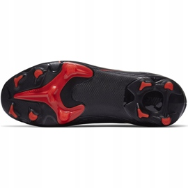 Buty piłkarskie Nike Mercurial Vapor 13 Academy FG/MG Junior AT8123 060 czarne czarne 8