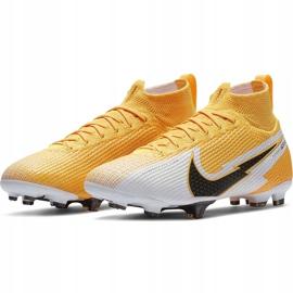 Buty piłkarskie Nike Mercurial Superfly 7 Elite Fg Junior AT8034 801 żółte żółte 3