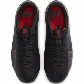 Buty piłkarskie Nike Mercurial Vapor 13 Academy FG/MG Junior AT8123 060 czarne czarne 1