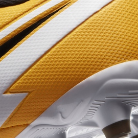 Buty piłkarskie Nike Mercurial Vapor 13 Academy FG/MG Junior AT8123 801 pomarańczowe żółte 5