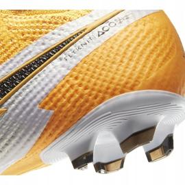 Buty piłkarskie Nike Mercurial Superfly 7 Elite Fg Junior AT8034 801 żółte żółte 6