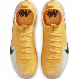 Buty piłkarskie Nike Mercurial Superfly 7 Elite Fg Junior AT8034 801 żółte żółte 1