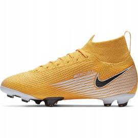 Buty piłkarskie Nike Mercurial Superfly 7 Elite Fg Junior AT8034 801 żółte żółte 2